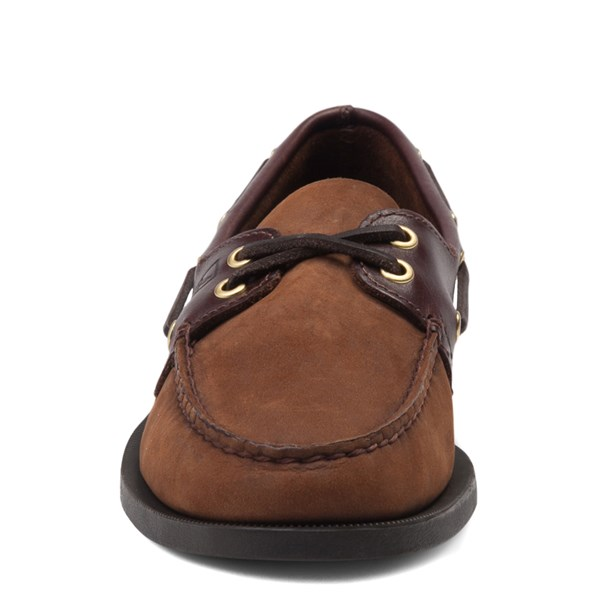 alternate view Mens Sperry Top-Sider Authentic Original Boat Shoe - Dark BrownALT4