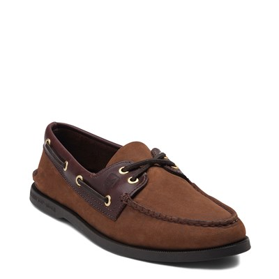 Alternate view of Mens Sperry Top-Sider Authentic Original Boat Shoe - Dark Brown