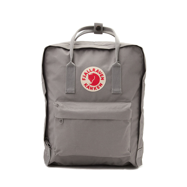 Main view of Fjallraven Kanken Backpack - Fog Gray