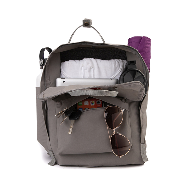 alternate view Fjallraven Kanken Backpack - Fog GrayALT1