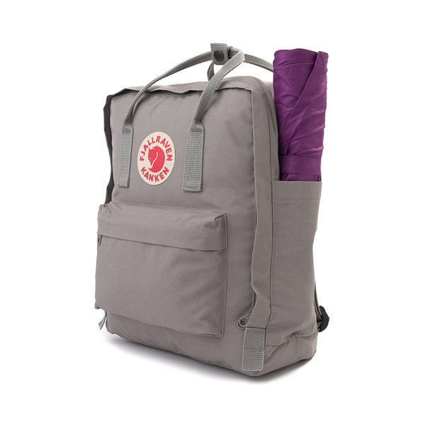 alternate view Fjallraven Kanken Backpack - Fog GrayALT4