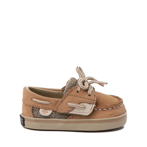 Main view of Sperry Top-Sider Bluefish Boat Shoe - Baby - Tan