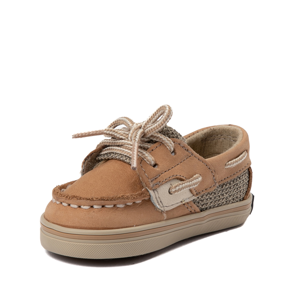 alternate view Sperry Top-Sider Bluefish Boat Shoe - Baby - TanALT2