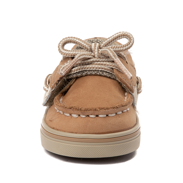 alternate view Sperry Top-Sider Bluefish Boat Shoe - Baby - TanALT4