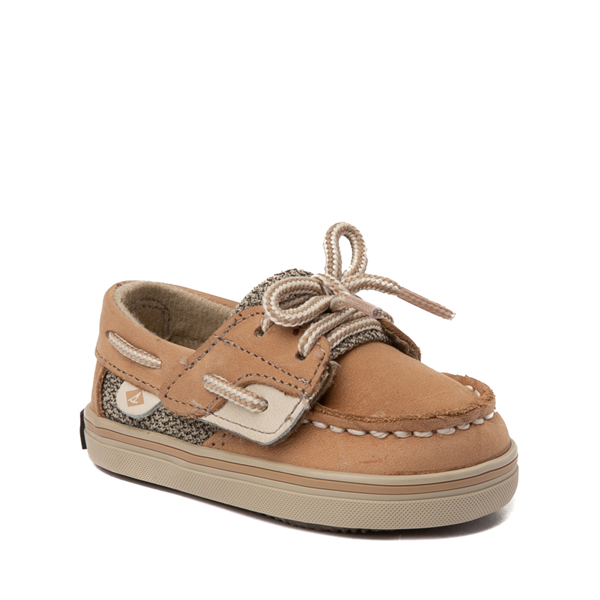 alternate view Sperry Top-Sider Bluefish Boat Shoe - Baby - TanALT5