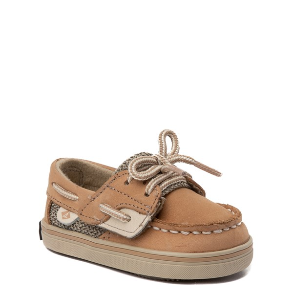 alternate view Sperry Top-Sider Bluefish Boat Shoe - Baby - TanALT1