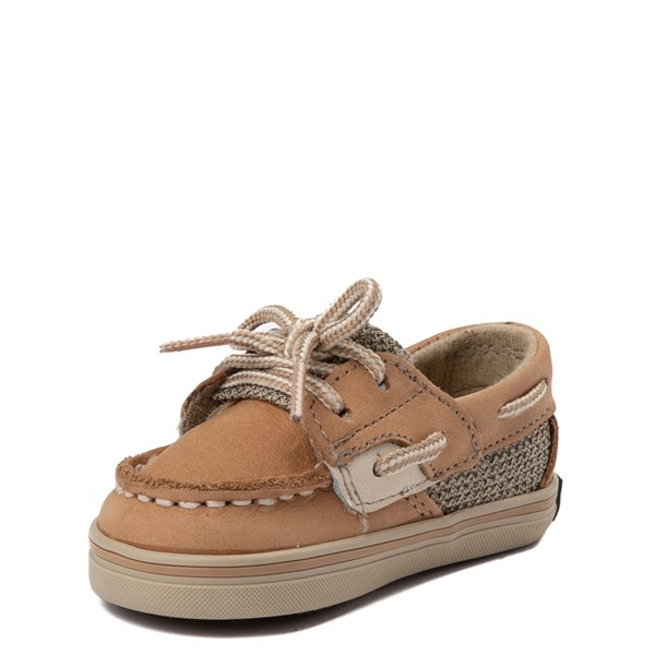 alternate view Sperry Top-Sider Bluefish Boat Shoe - Baby - TanALT3