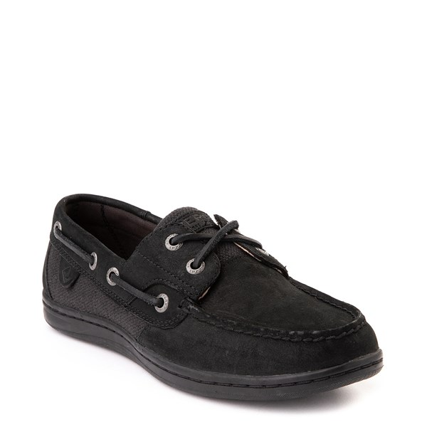 alternate view Womens Sperry Top-Sider Koifish Boat Shoe - BlackALT1
