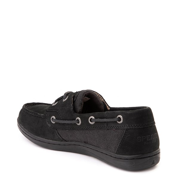 alternate view Womens Sperry Top-Sider Koifish Boat Shoe - BlackALT2