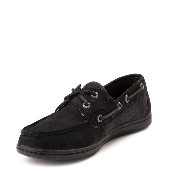alternate view Womens Sperry Top-Sider Koifish Boat Shoe - BlackALT3
