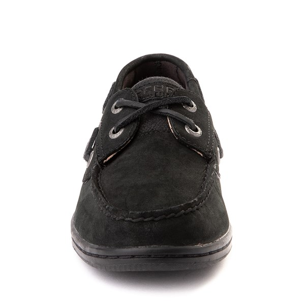 alternate view Womens Sperry Top-Sider Koifish Boat Shoe - BlackALT4