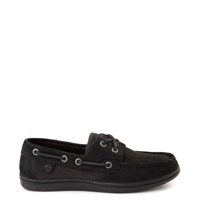 Main view of Womens Sperry Top-Sider Koifish Boat Shoe - Black