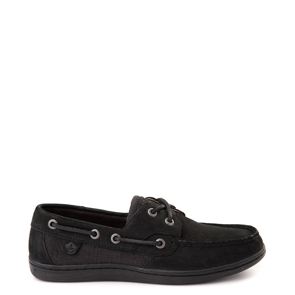 Womens Sperry Top-Sider Koifish Boat Shoe - Black