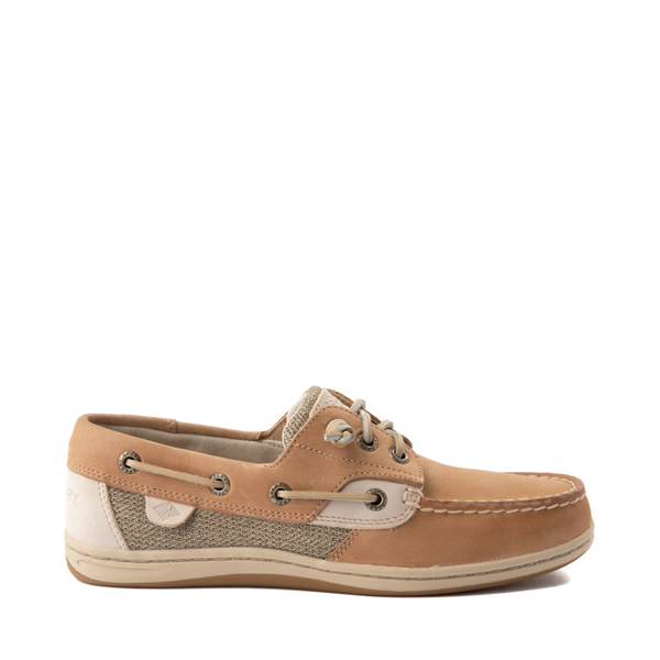 Womens Sperry Top-Sider Songfish Boat Shoe - Linen / Oat