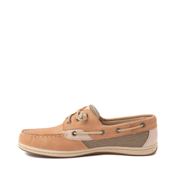 alternate view Womens Sperry Top-Sider Songfish Boat Shoe - Linen / OatALT1