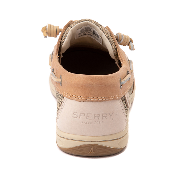 alternate view Womens Sperry Top-Sider Songfish Boat Shoe - Linen / OatALT4