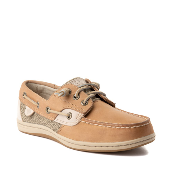 alternate view Womens Sperry Top-Sider Songfish Boat Shoe - Linen / OatALT5