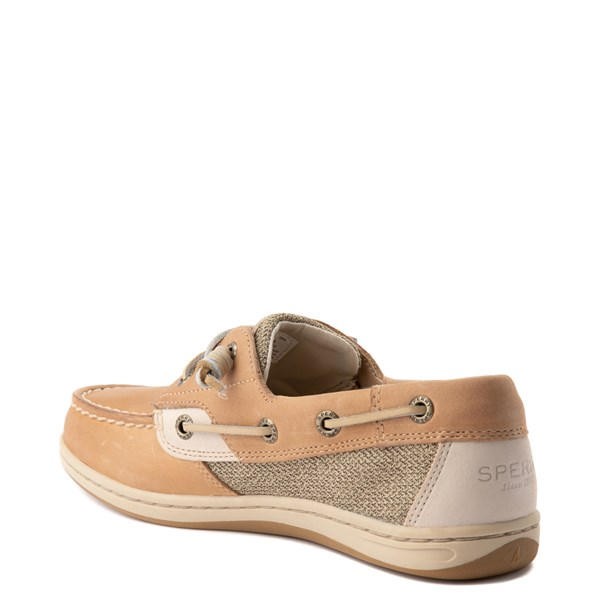 alternate view Womens Sperry Top-Sider Songfish Boat Shoe - Linen / OatALT2