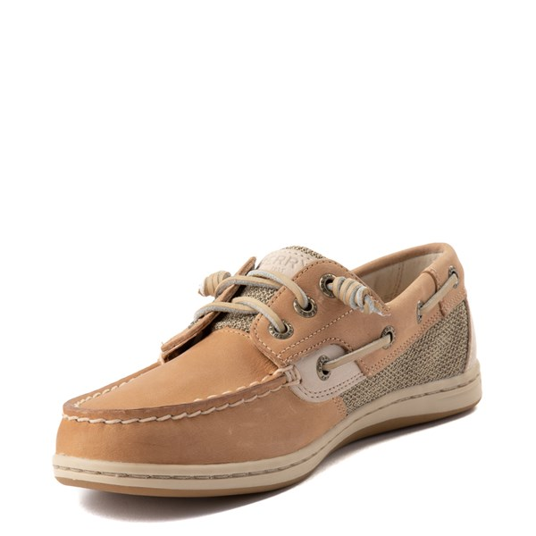 alternate view Womens Sperry Top-Sider Songfish Boat Shoe - Linen / OatALT3