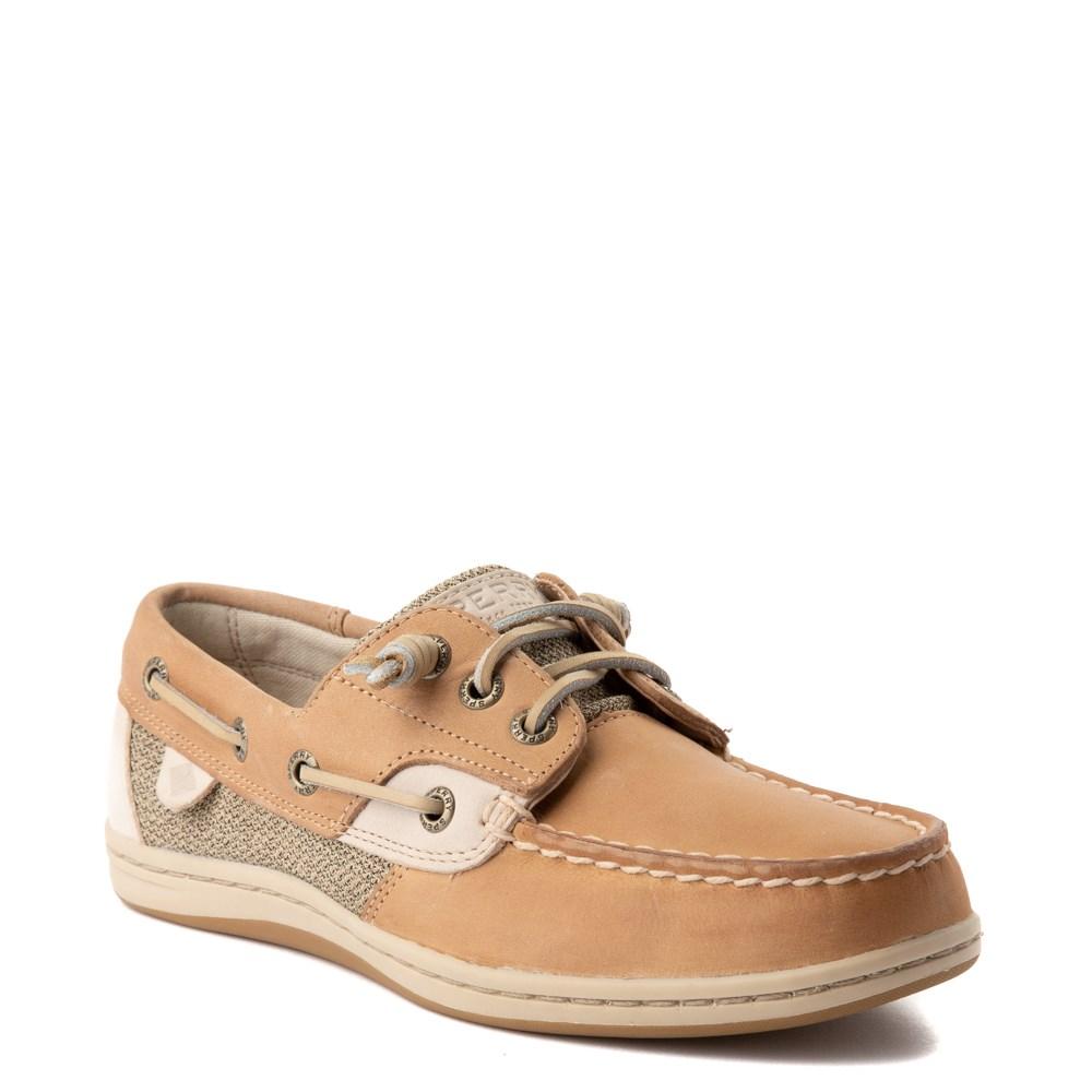 Womens Sperry Top Sider Songfish Boat Shoe Linen Oat