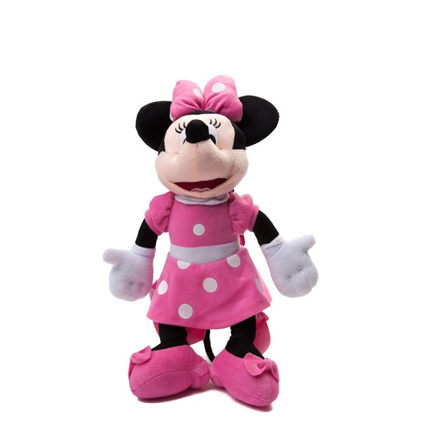 Main view of Minnie Plush Backpack