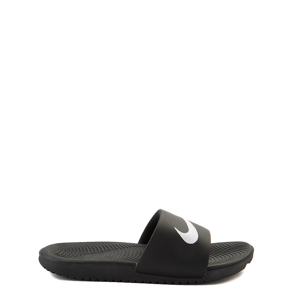 Nike Kawa Slide Sandal - Little Kid / Big Kid - Black