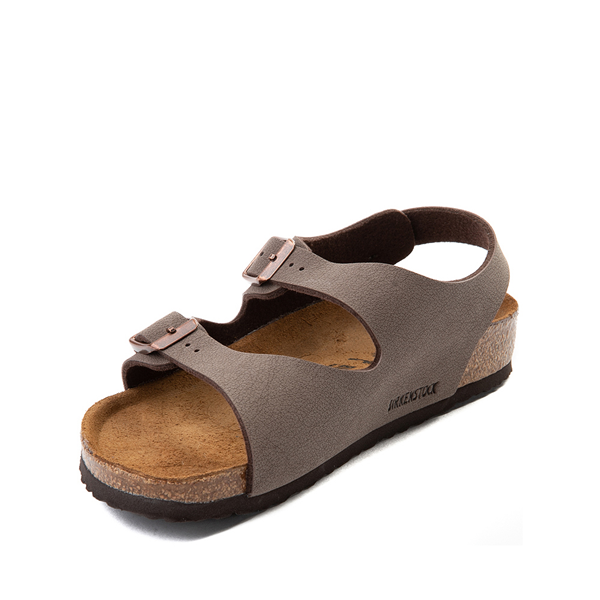 alternate view Birkenstock Roma Sandal - Little Kid - MochaALT2