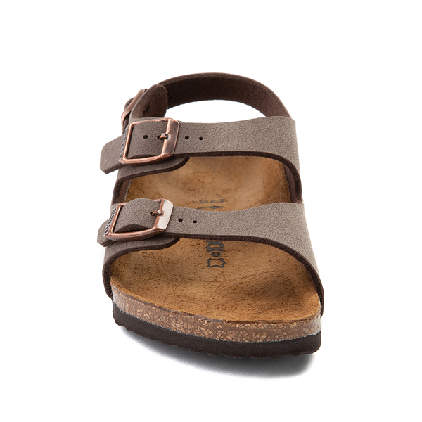 alternate view Birkenstock Roma Sandal - Little Kid - MochaALT4