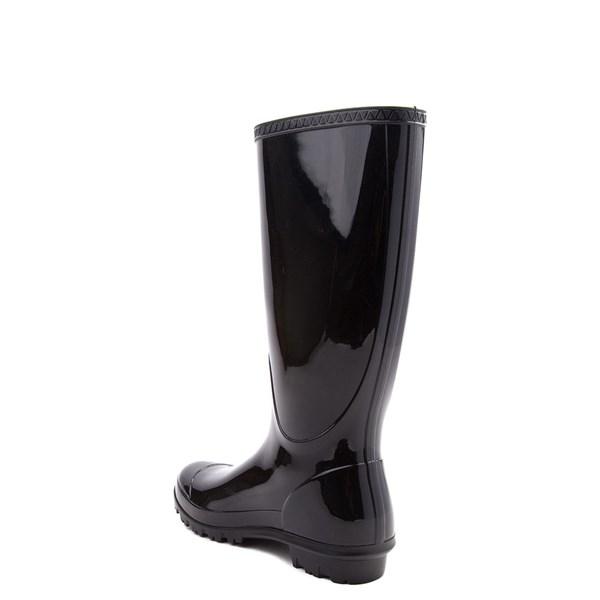 alternate view Womens UGG® Shaye Tall Rain Boot - BlackALT2