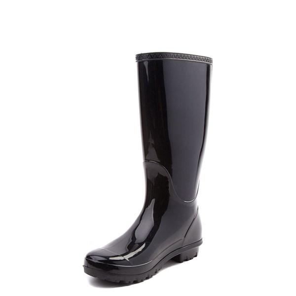 alternate view Womens UGG® Shaye Tall Rain Boot - BlackALT3