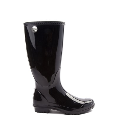 Main view of Womens UGG® Shaye Tall Rain Boot - Black