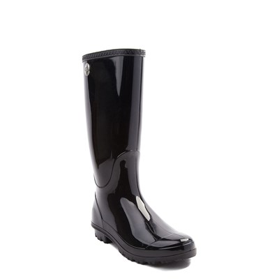 Alternate view of Womens UGG® Shaye Tall Rain Boot - Black