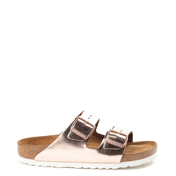 Main view of Womens Birkenstock Arizona Soft Footbed Sandal - Copper