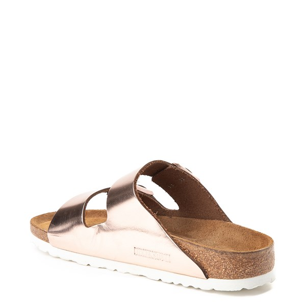 alternate view Womens Birkenstock Arizona Soft Footbed Sandal - CopperALT2