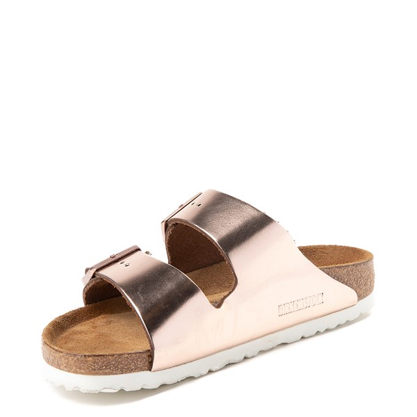 alternate view Womens Birkenstock Arizona Soft Footbed Sandal - CopperALT3