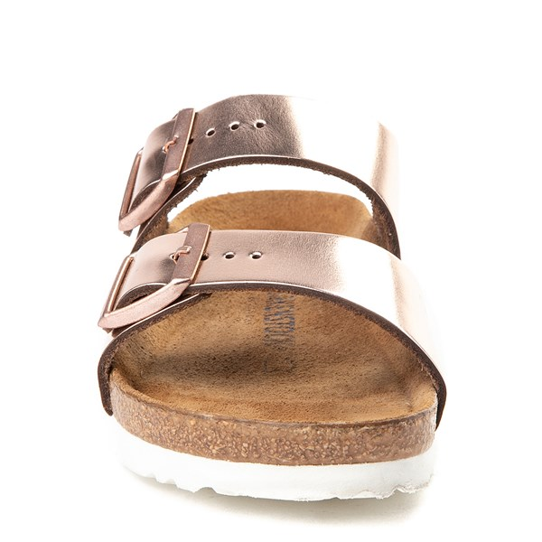 alternate view Womens Birkenstock Arizona Soft Footbed Sandal - CopperALT4