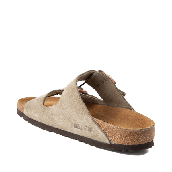 alternate view Womens Birkenstock Arizona Soft Footbed Sandal - StoneALT1