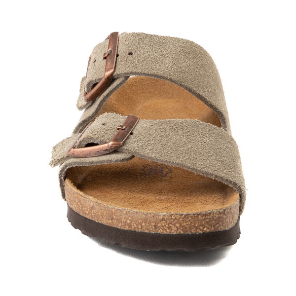alternate view Womens Birkenstock Arizona Soft Footbed Sandal - StoneALT4