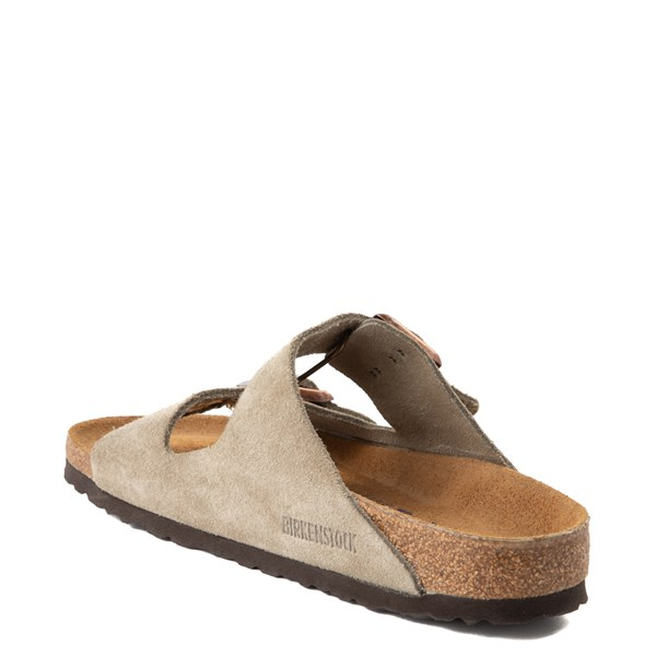 alternate view Womens Birkenstock Arizona Soft Footbed Sandal - StoneALT2