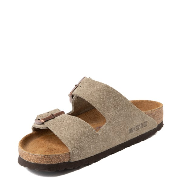 alternate view Womens Birkenstock Arizona Soft Footbed Sandal - StoneALT3
