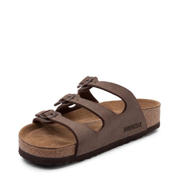 alternate view Womens Birkenstock Florida Soft Footbed Sandal - BrownALT2