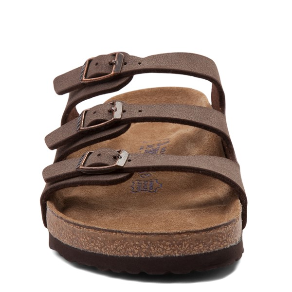 alternate view Womens Birkenstock Florida Soft Footbed Sandal - BrownALT4