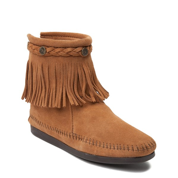 alternate view Womens Minnetonka Back Zip BootALT1