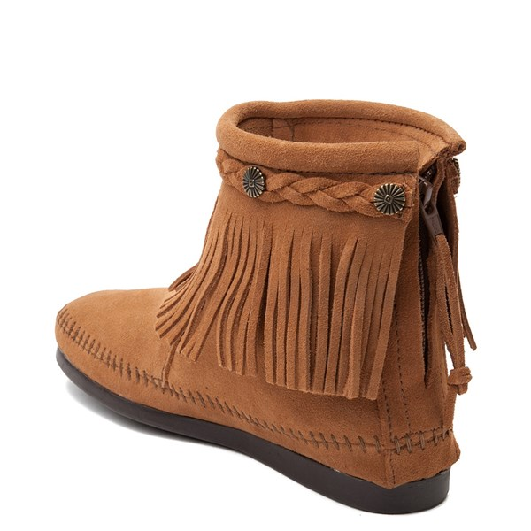 alternate view Womens Minnetonka Back Zip BootALT2
