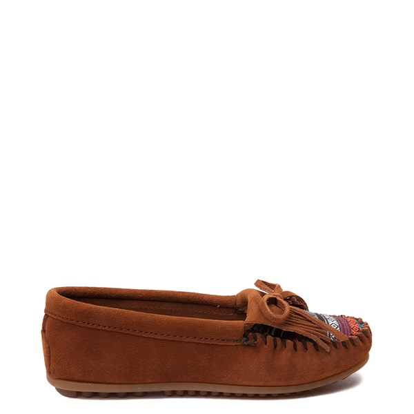Womens Minnetonka Arizona Casual Shoe - Chestnut