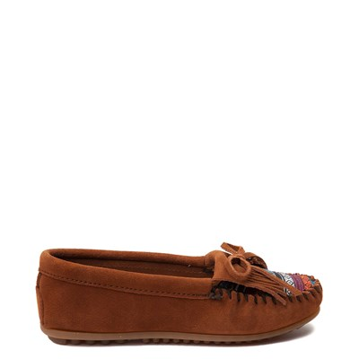 Main view of Womens Minnetonka Arizona Casual Shoe - Chestnut