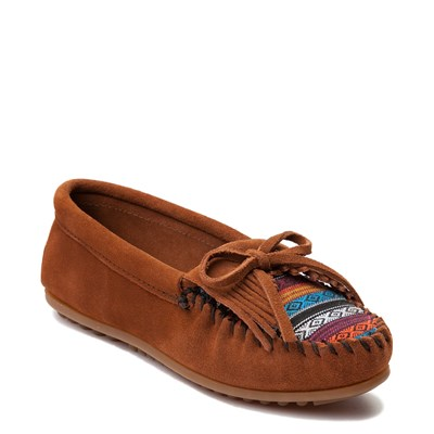 Alternate view of Womens Minnetonka Arizona Casual Shoe - Chestnut