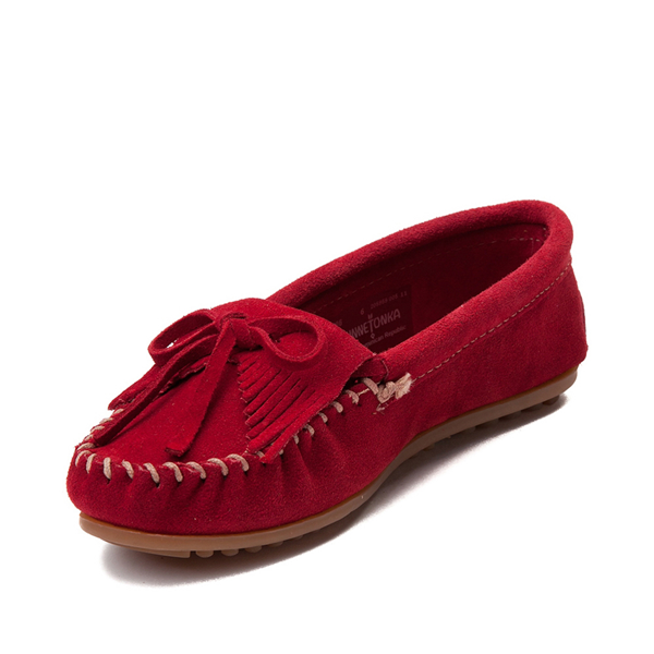 alternate view Womens Minnetonka Kilty Casual Shoe - RedALT2