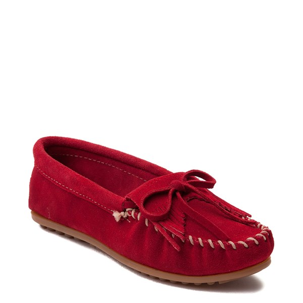 alternate view Womens Minnetonka Kilty Casual Shoe - RedALT1