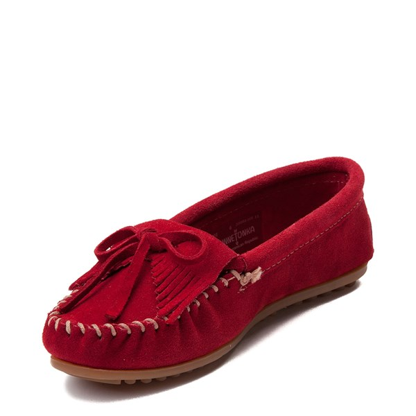 alternate view Womens Minnetonka Kilty Casual Shoe - RedALT3